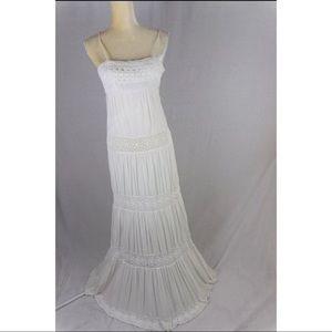 Gorgeous Sue Wong Crotchet Maxi Dress